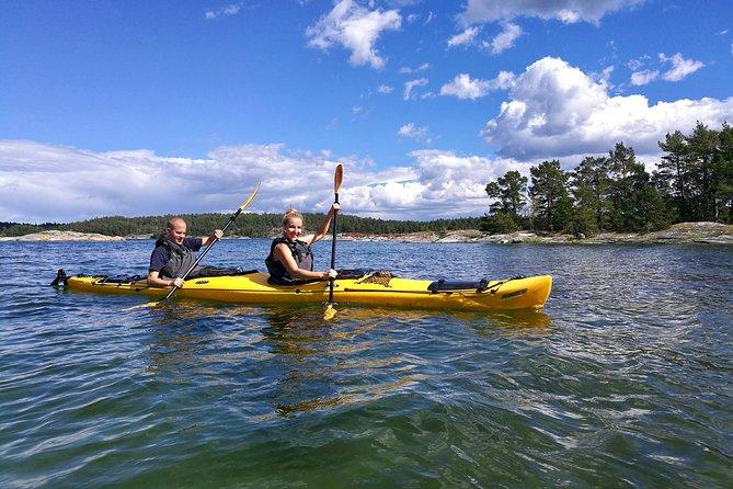 1-Day Small-Group Stockholm Archipelago Kayak Tour