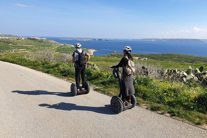 Mgarr Harbor Gozo Segway Tour