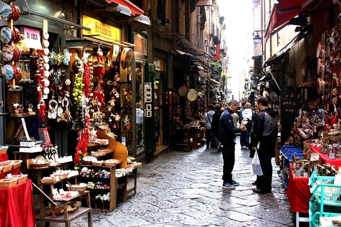 Tour Naples Historical Center and Street Food Markets
