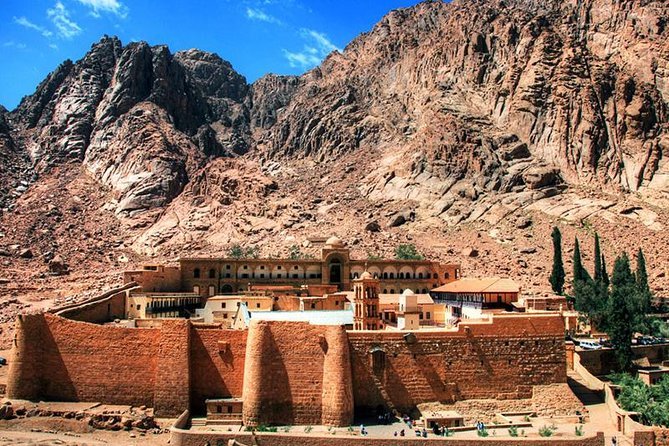St. Catherine's Monastery and Moses Mount Sunset tour from Sharm el Sheikh