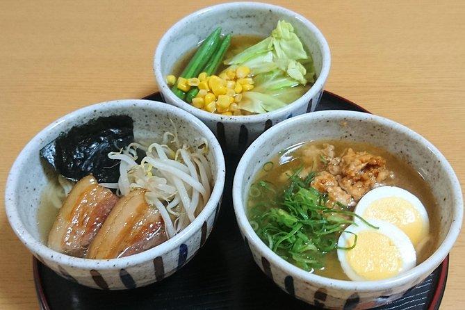 Three Types of RAMEN Cooking Class