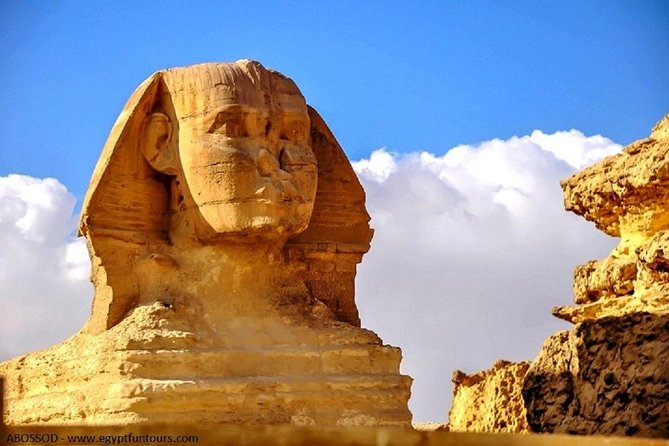 Private Full Day Trip to Pyramids, Sphinx, Saqqara, & Memphis Museum