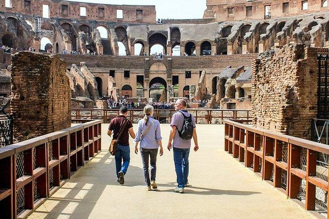 Exclusive Colosseum Gladiator's Arena Guided Tour - VIP Entry