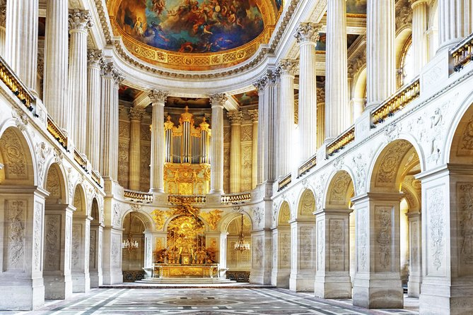 Small Group Versailles Palace Day Trip with Skip the Line Audio Guided Tour, Paris, FRANCIA