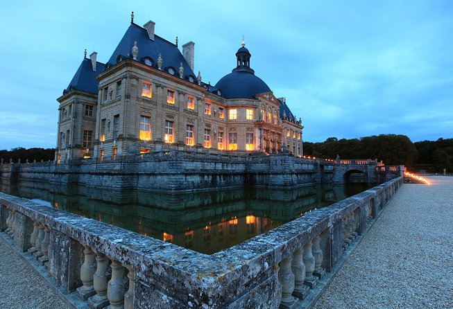 Vaux le Vicomte Castle Evening Experience: Candlelight Visit and DInner