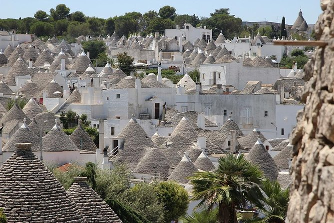 "Alberobello the ""Town of Trulli"" Private Day Tour from Rome"