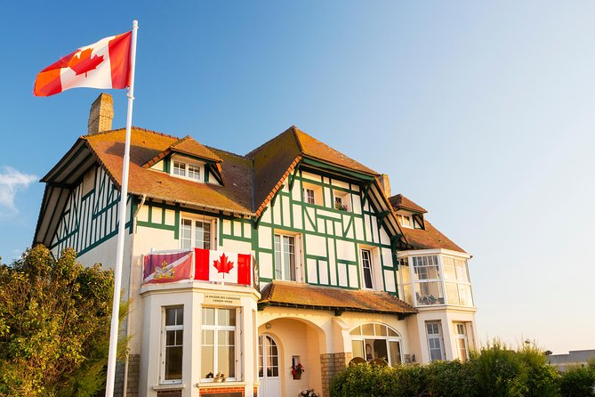Normandy D-Day Beaches Day Trip with Juno Beach, Canadian Cemetery & House