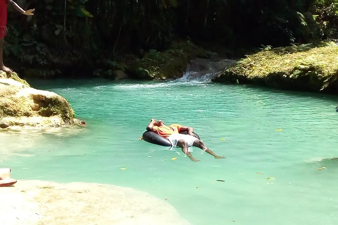Blue Hole From Ocho Rios