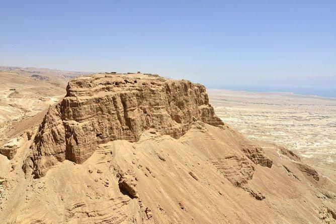 The Judean Desert, the Dead Sea and Masada