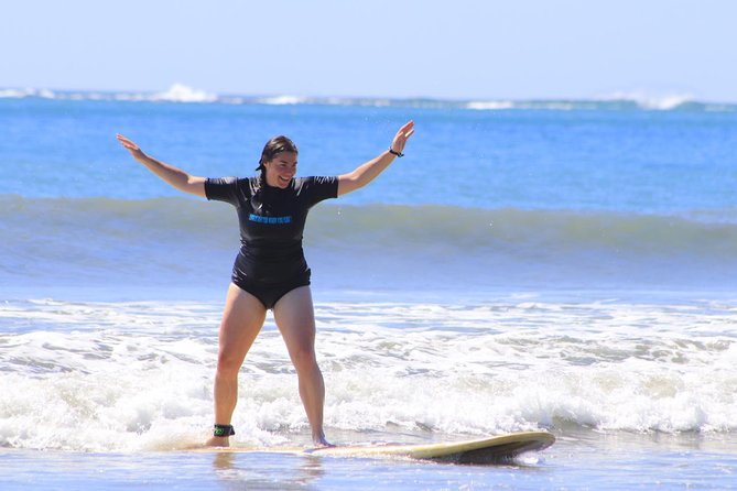 Surfing Lessons with certified Instructor