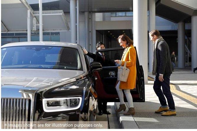 Privately tour on Miyajima in a Rolls-Royce Phantom