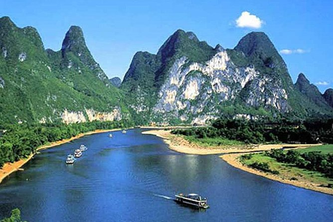 Li River Cruise Full Day Tour of Guilin and Yangshuo including Lunch