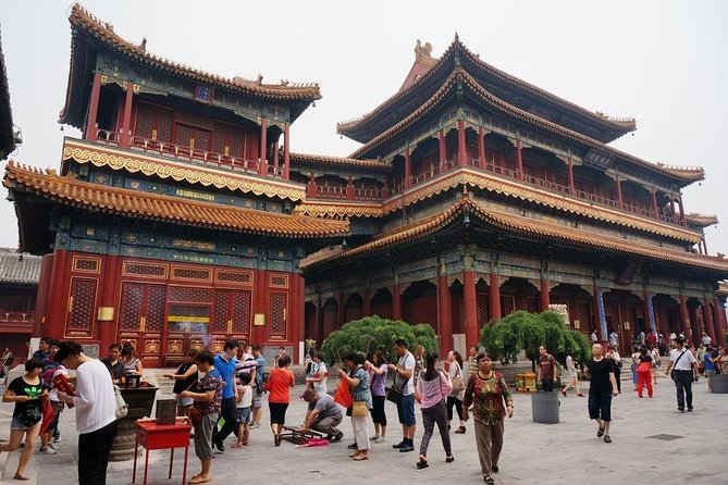 Beijing Walking Tour to Lama Temple & Hutongs & Drum Tower plus Dumplings Lunch
