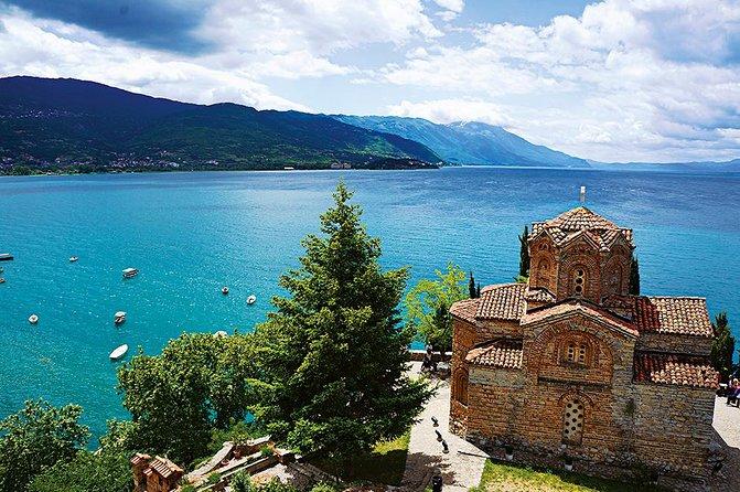 Tour de la ciudad de Ohrid con guía