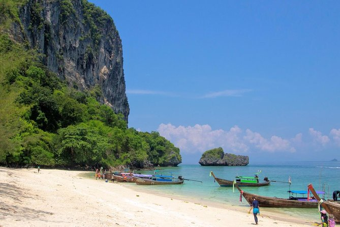 Stop at Poda Island for some beach time