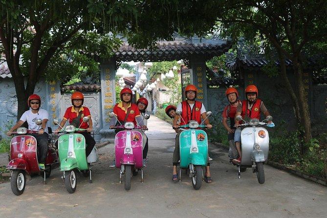 Half-Day Small-Group Vespa City Tour in Hanoi