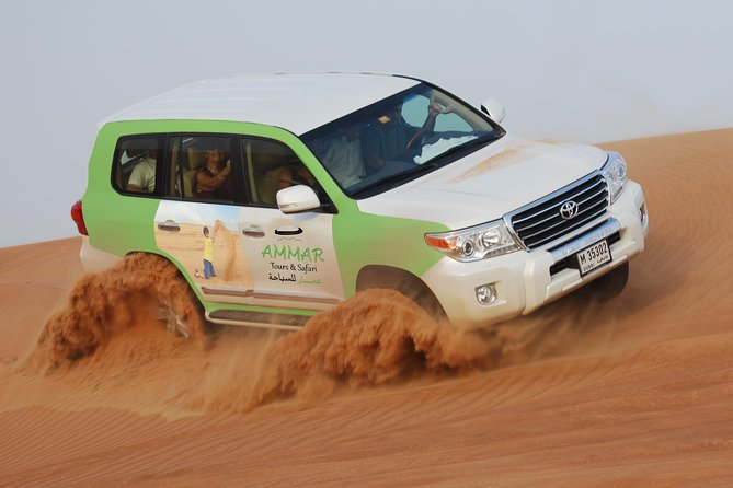 Morning Safari by 4x4 from Dubai with Sand Boarding