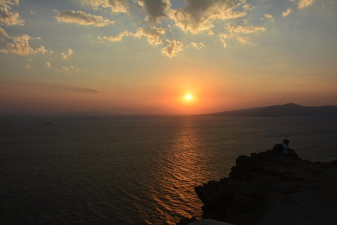 Armenistis Lighthouse. Enjoy the most magnificent sunset. photo 1