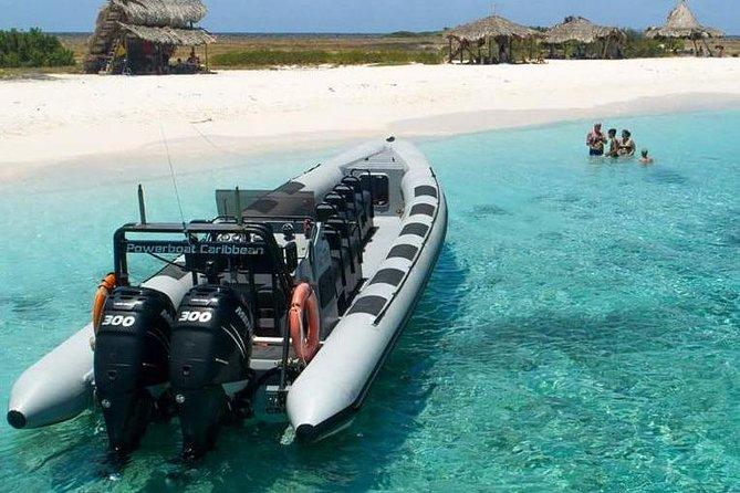 Klein Curacao Powerboat Adventure