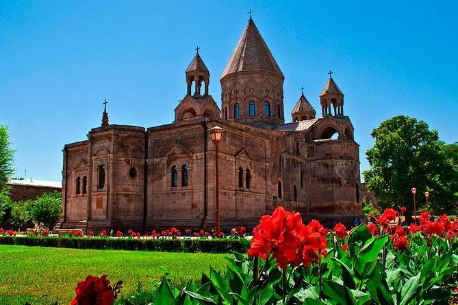 Private tour to Etchmiadzin Cathedral-Gayane, Hripsime churches-Zvartnots temple