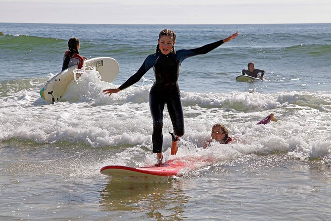 Surf Lesson for Small Groups in Albufeira