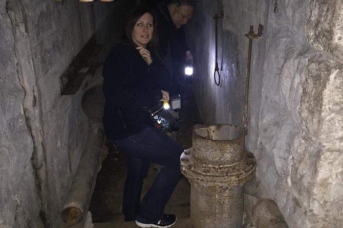 Night Ghost Tour of Pythian Castle in Springfield Missouri