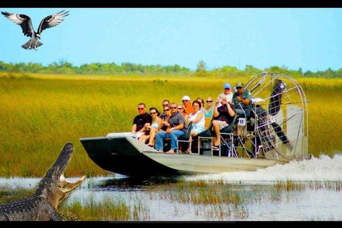 Miami Everglades Airboat Tour Adventure