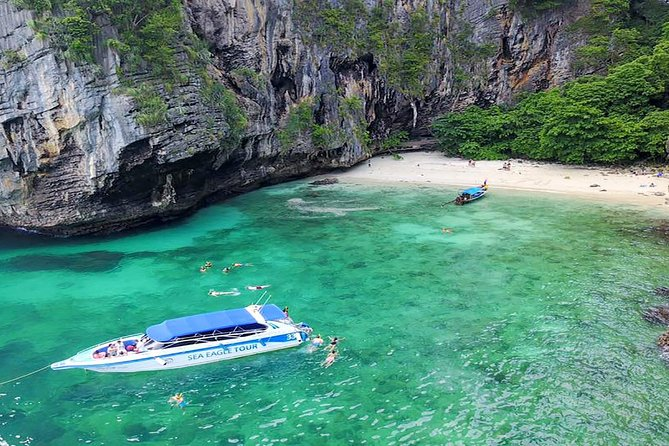 Phi Phi Island Speed Boat Tour av Sea Eagle från Krabi