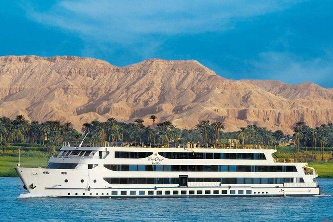 Excursão particular: pirâmides de 10 dias, cruzeiro pelo Nilo e Hurghada por via aérea do Cairo