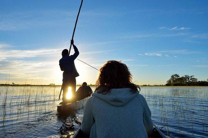 14 Days Okavango Delta & Victoria Falls to Johannesburg Serviced Camping