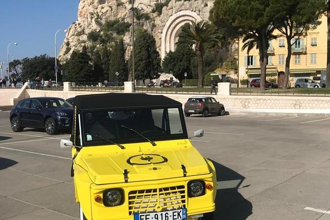 Visit of the city of Nice in Citroen Mehari Electric (1 hour visit)