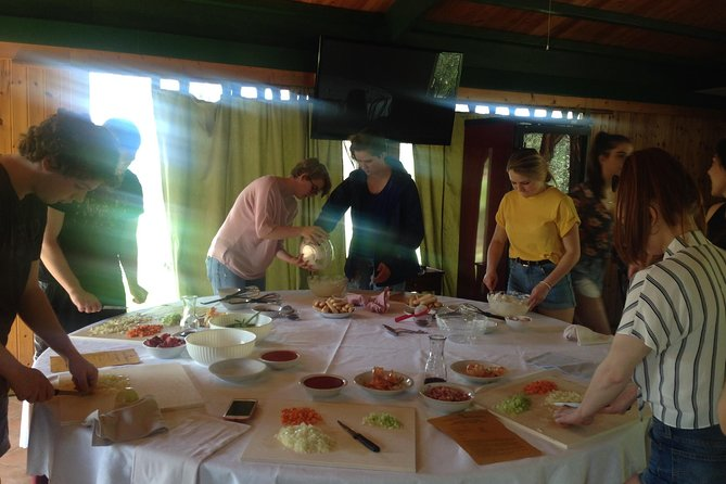 Cooking course with lunch or dinner