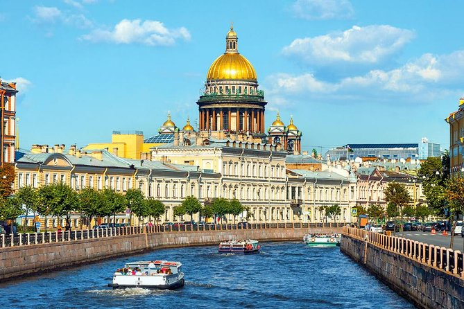 3-Day VISA FREE Private Shore Tour. Best of St-Petersburg and Environs.