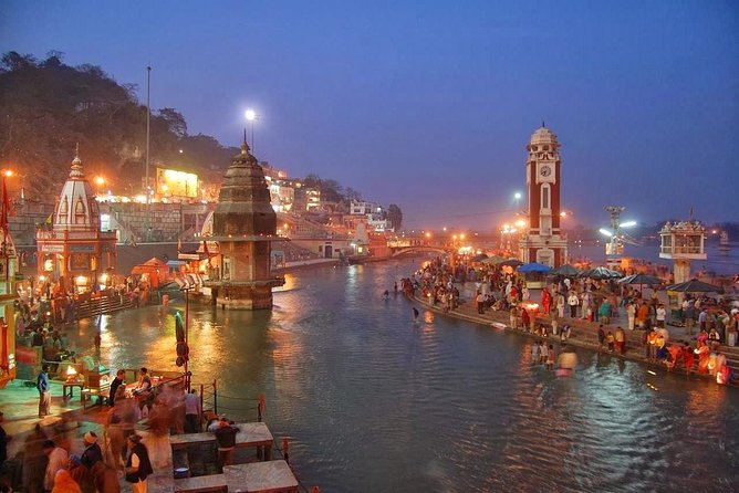 Golden Triangle With Ganges River