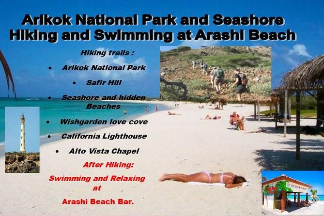 Private Hiking: Aruba's National Park and Seashore Excursion