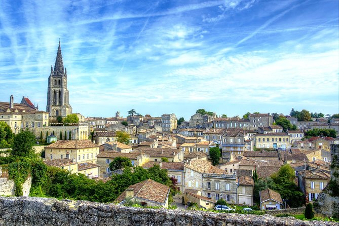 Private shuttle from MERIGNAC airport to SAINT EMILION