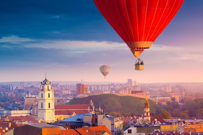 Private Hot Air Balloon Ride in Vilnius
