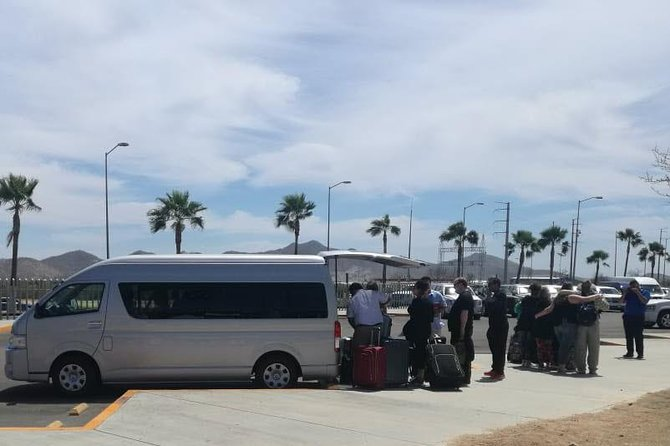 Shuttle Service SJD Airport to San Jose and Cabo San Lucas Hotels Round Trip
