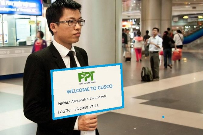 Transfer from Cusco Airport to the Hotel (Cusco)