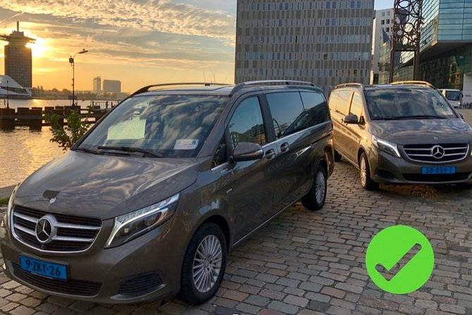 Private departure transfer from Amsterdam to Schiphol Airport (AMS)
