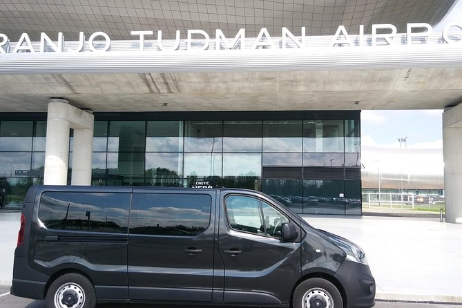 Private Arrival Transfer: Zagreb Airport to Hotels