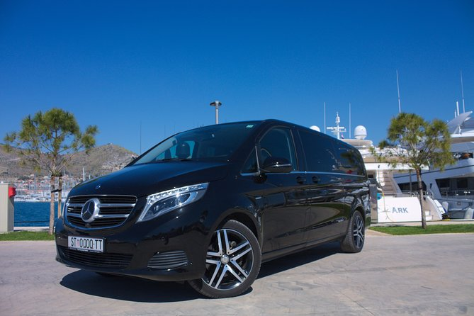 Split airport transfer to apartment, hotel, villa or yacht in Split