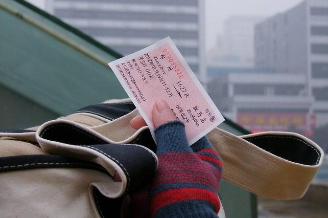 Private Zhengzhou Railway Station Transfer from City Hotels
