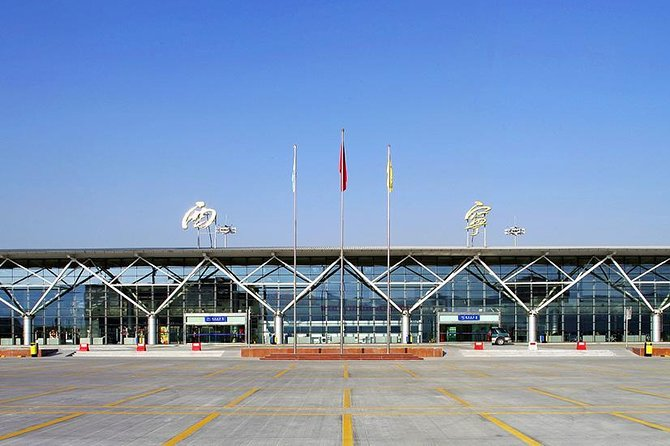 Private Xining Caojiabao International Airport Departure Transfer from City Hotels