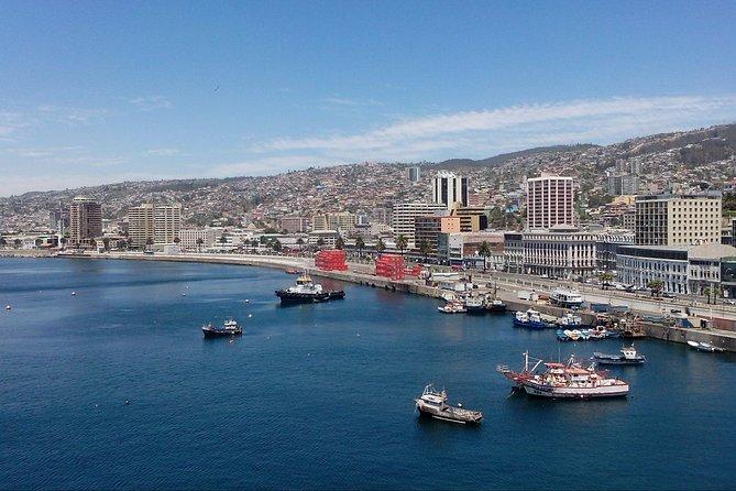 Traslado de Valparaíso ou Viña del Mar para Santiago