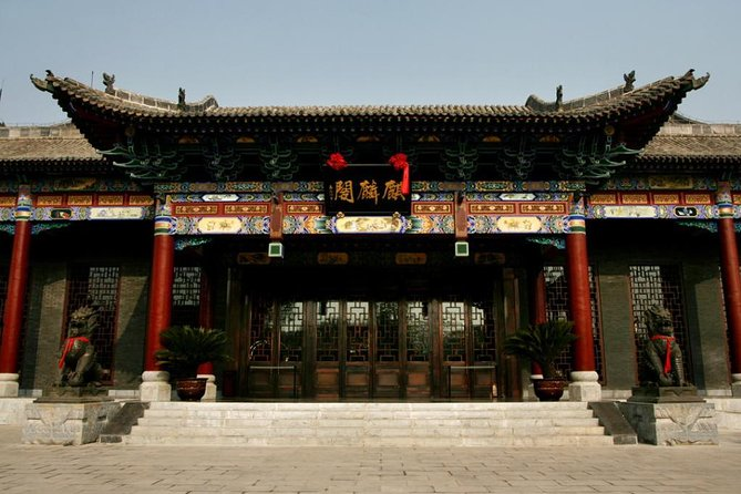 Privater Transfer from Datong to Pingyao with driver