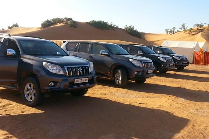 Transfer from Merzouga to Fes