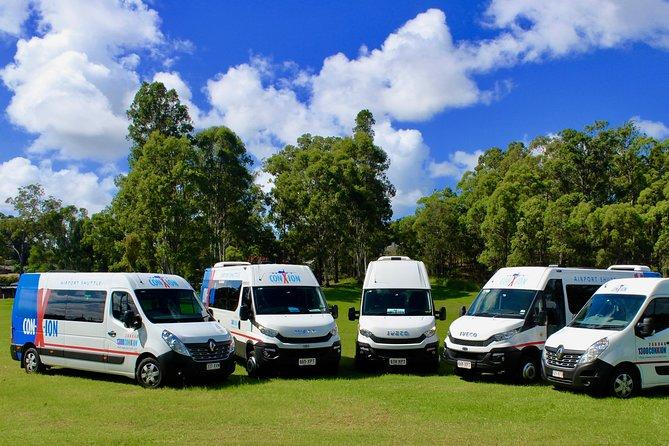 Brisbane Departure Transfer Shuttle from Hotel to Brisbane Airport