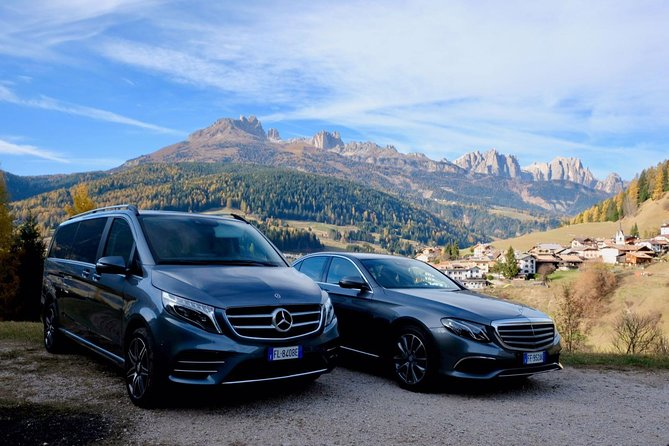 Private transfer from AltaBadia San Cassiano , La Villa & Corvara to Venice