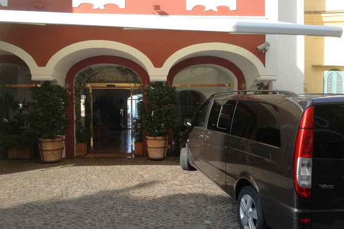 Transfer from Naples Airport or Train Station to Hotel and Vice Versa